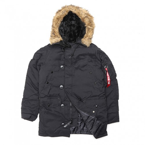 [ALPHA INDUSTRIES] ALTITUDE (BLACK)