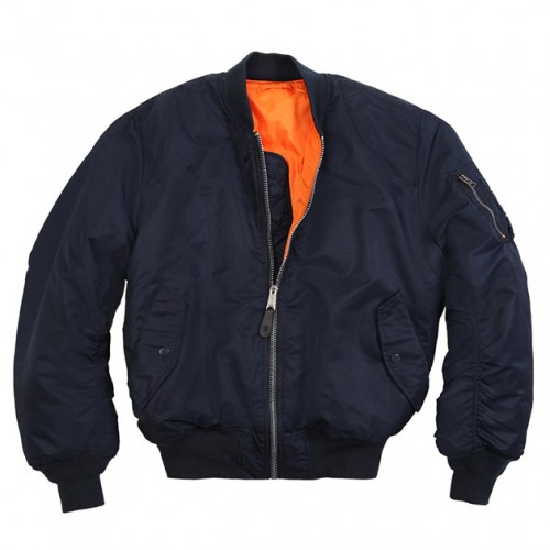 [ALPHA INDUSTRIES] MA-1 FLIGHT JACKET (REPLICA BLUE)