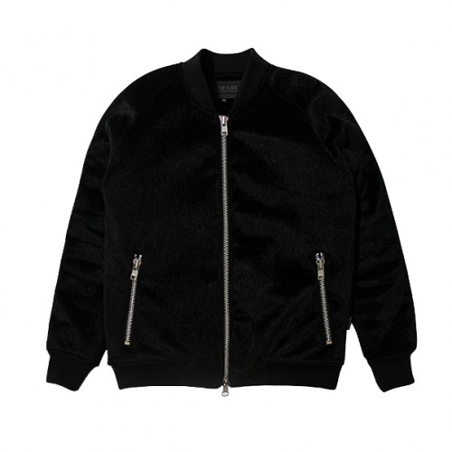 [SAFARY] PANTHER BLOUSON JUMPER (BLACK)
