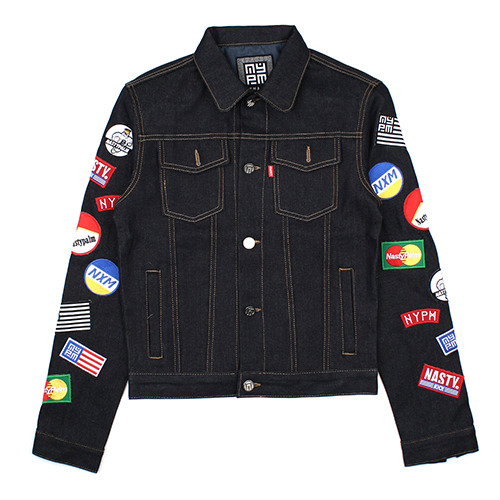 [NASTY PALM ] CRASH DENIM JACKET (INDIGO)