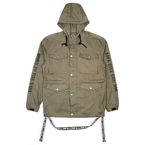 [NASTY PALM ] NASTY FURY JACKET (KHAKI)