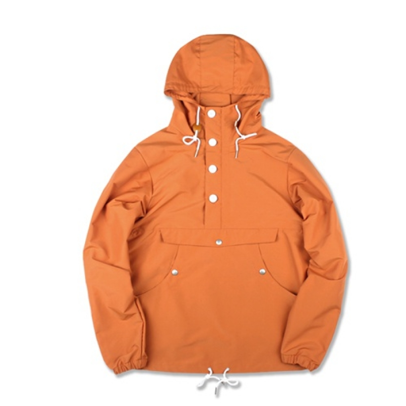 [MARCH WITH] PULLOVER ANORAK JACKET (ORANGE)