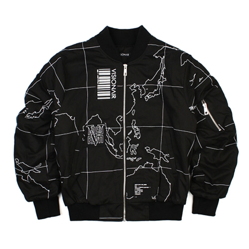 [VSA] V-OPERATION MA-1 (BLK)