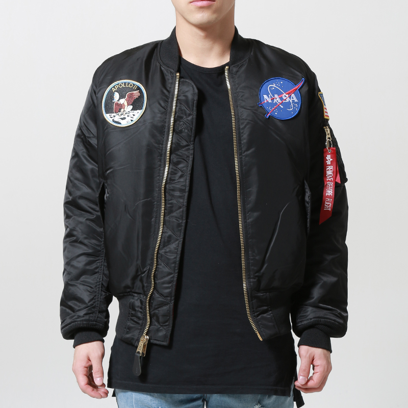 [ALPHA INDUSTRIES] APOLLO MA-1 (BLACK)