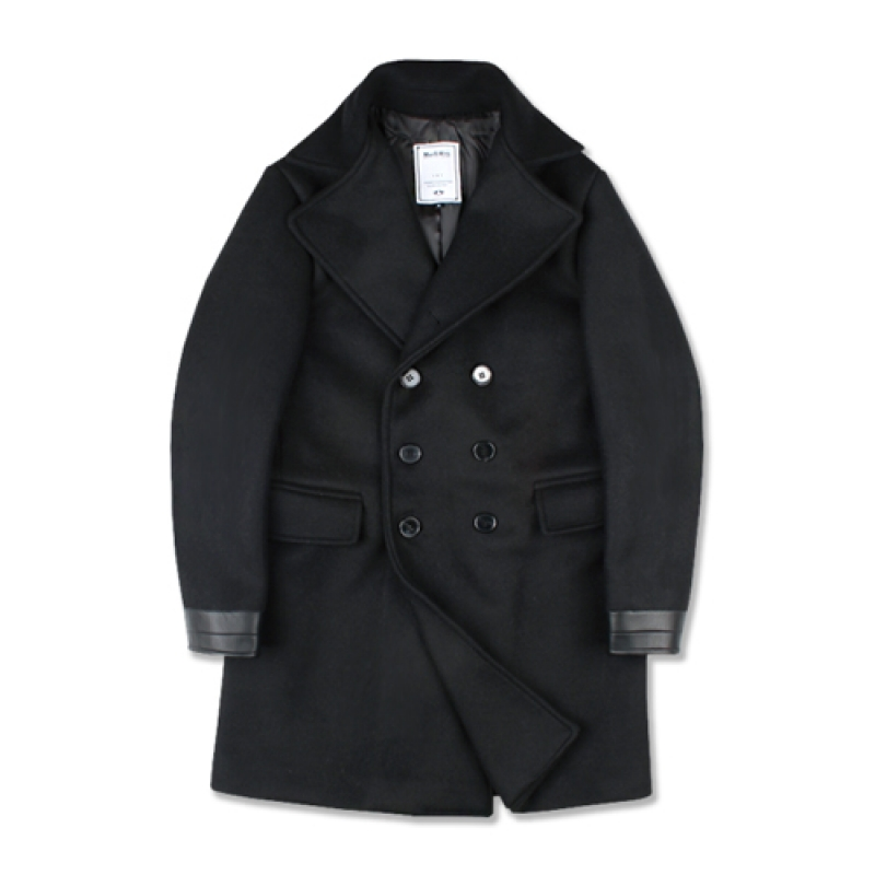 [MARCH WITH] 36OZ HEAVY DOUBLE COAT BLACK