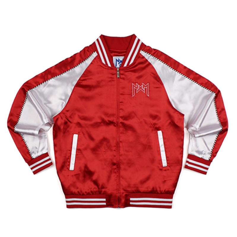 [NASTY PALM] NXM SOUVENIR JACKET (RED)