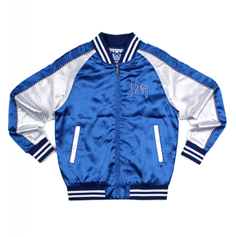 [NASTY PALM] NXM SOUVENIR JACKET (BLUE)