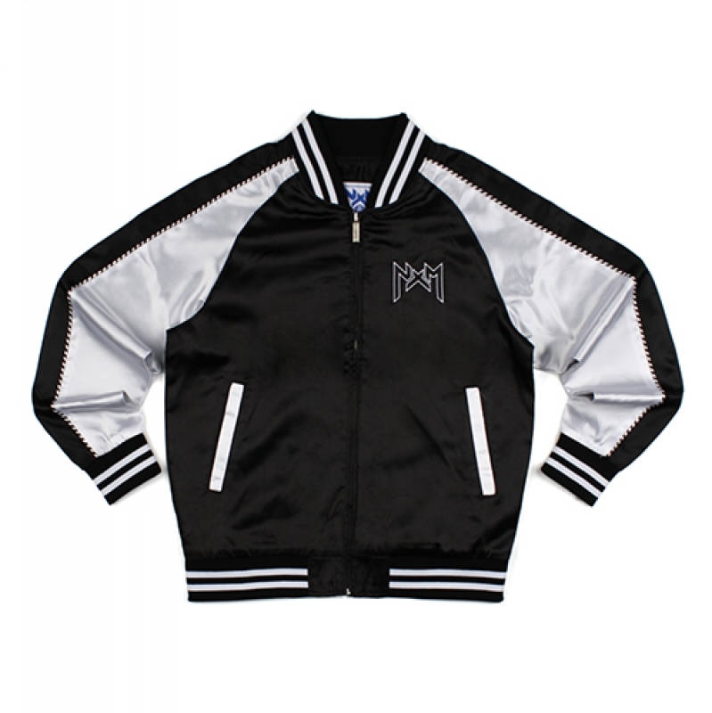 [NASTY PALM] NXM SOUVENIR JACKET (BLK)
