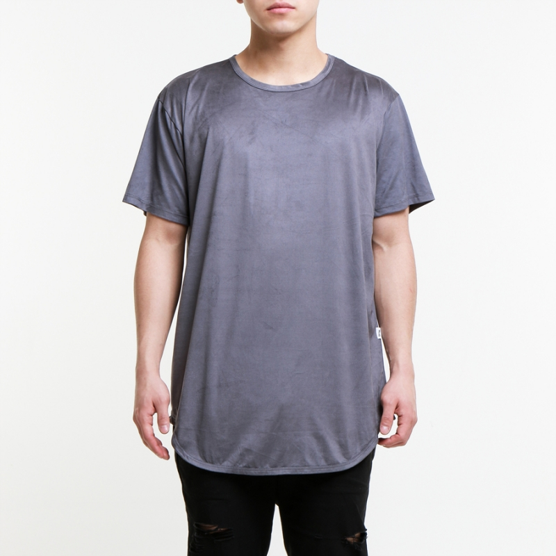 [EPTM] KNIGHT CHARCOAL SUEDE OG LONG TEE
