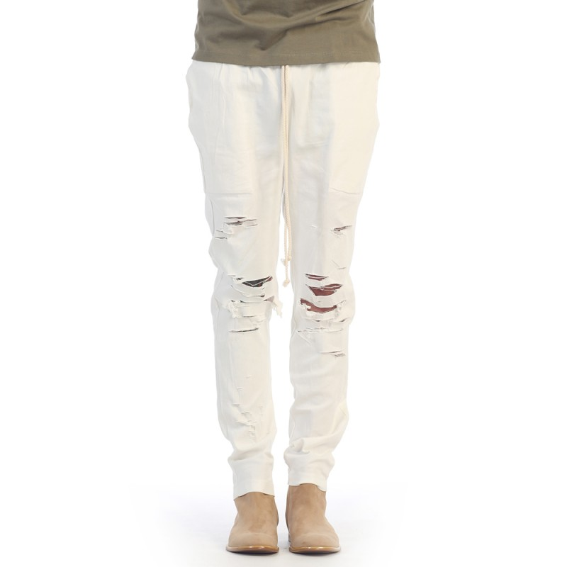 [1+1 EVENT] [$ SHOP SALE] [EPTM] THRASHER PANTS OFF WHITE