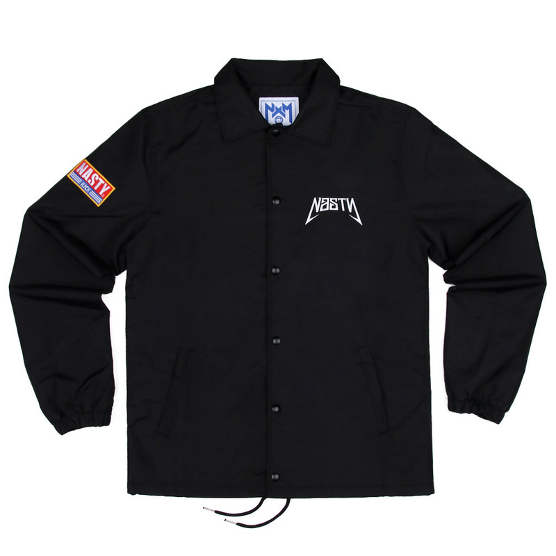 [NASTY PALM] NASTYKICK COACH JACKET (BLK)