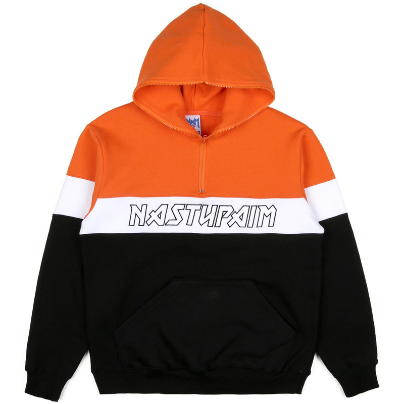 [NASTY PALM] SEEK FAULT HOODIE (ORANGE)