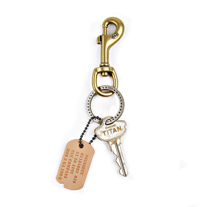 [AGINGCCC] MS. 14# STANDARD KEY RING