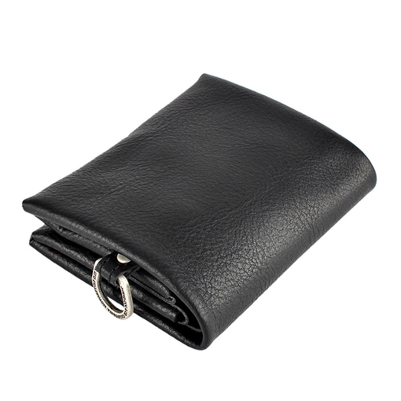 [AGINGCCC] MS. 21# C FOLD WALLET - BLACK