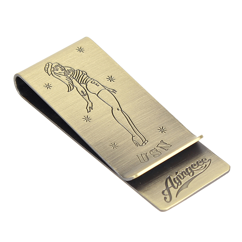 [AGINGCCC] MS. 30# PINUP GIRL MONEY CLIP