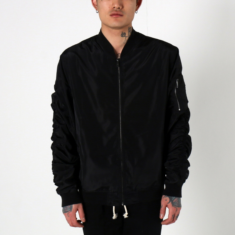 [$ SHOP SALE] [EPTM] LT WEIGHT MA-1 JACKET (BLACK)