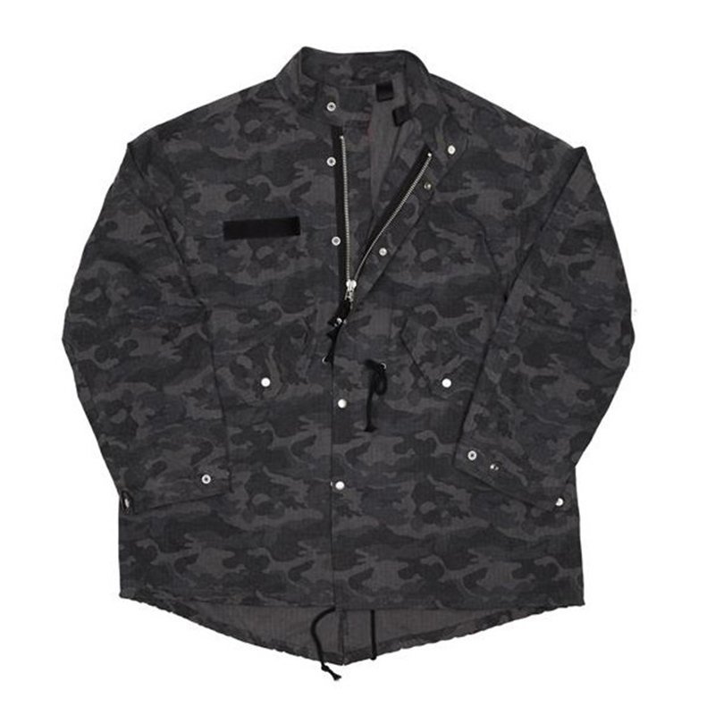 [OVERR] TOME.3 BALLOON CAMO FIELD JACKET