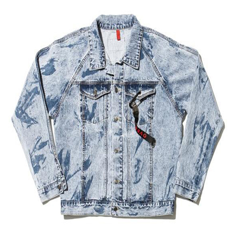 [OVERR] 17S/S PARTIAL BLEACH WASHING DENIM JACKET