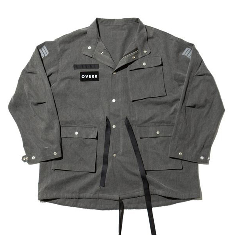 [OVERR] 17S/S PIGMENT GRAY BALLOON FIELD JACKET