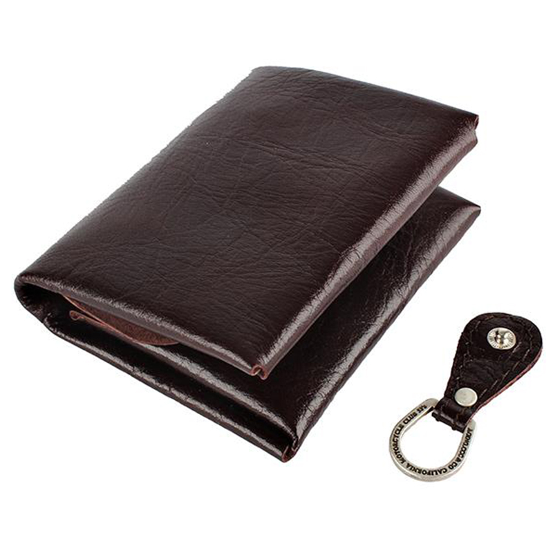 [AGINGCCC] 25# H FOLD WALLET - DARK BROWN