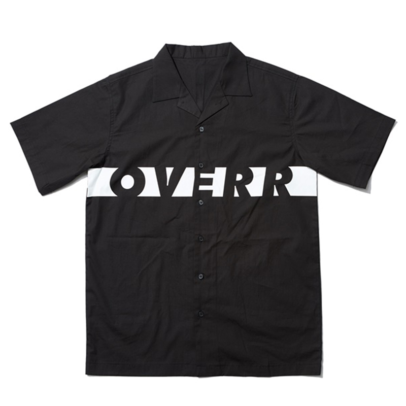 [OVERR] 17SU MOON BLACK SHIRTS
