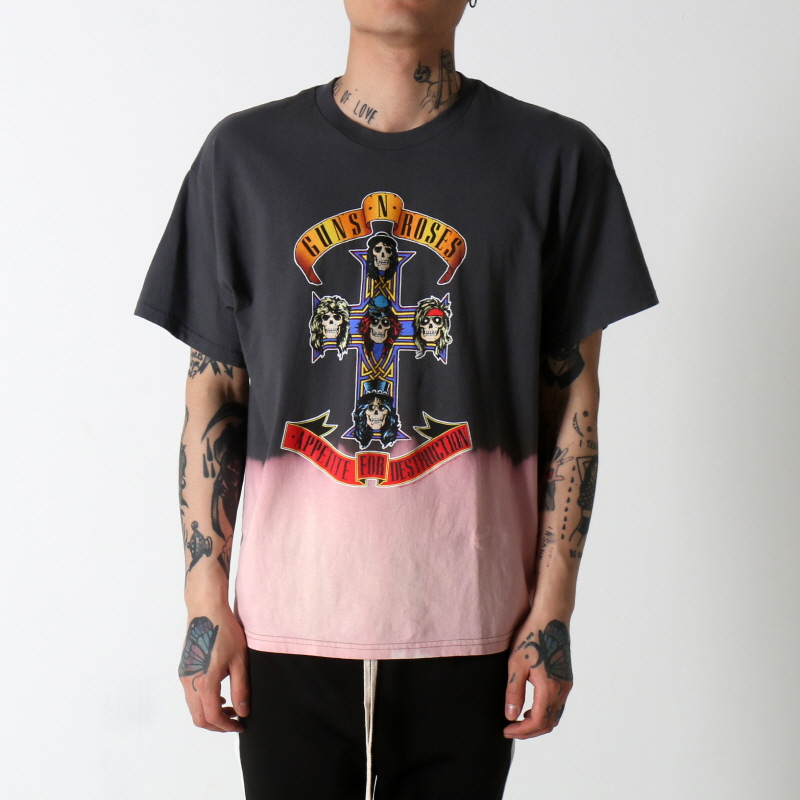 [$ SHOP SALE] [VINTAGE WEAR LA] GUNS AND ROSES CROSS TEE