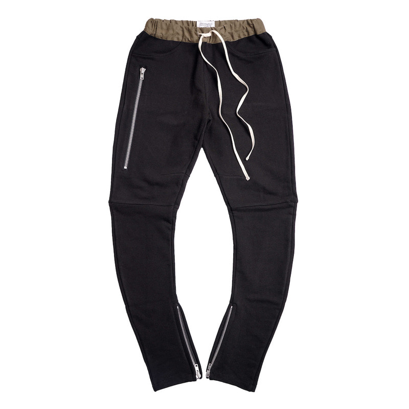 [DEADEND] BLACK J- DRAWSTRING PANTS