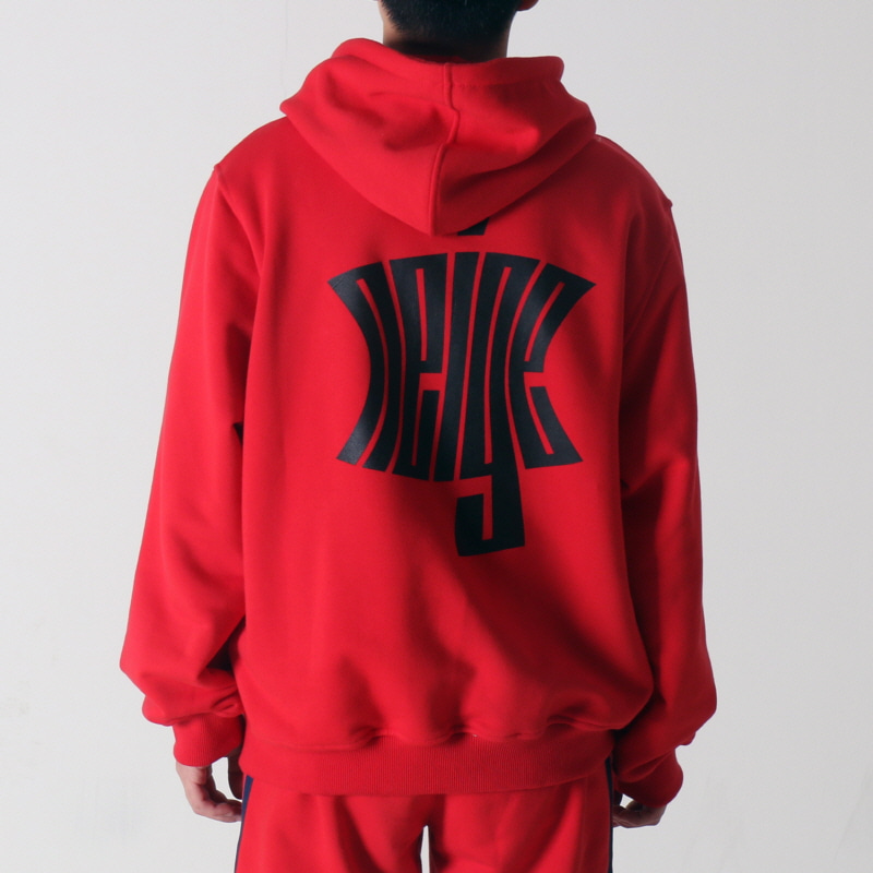 [$ SHOP SALE] [NEIGE] LOGO HOODIE RED