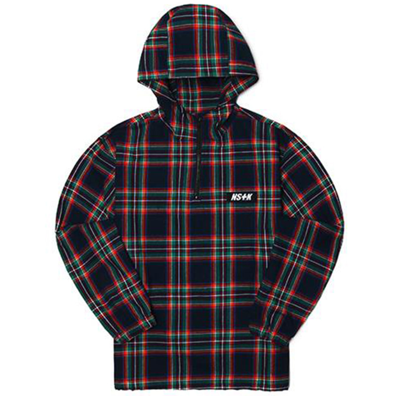 [2018 SUMMER SALE] [NSTK] MAZE SHIRT ANORAK JACKET (NAVY)