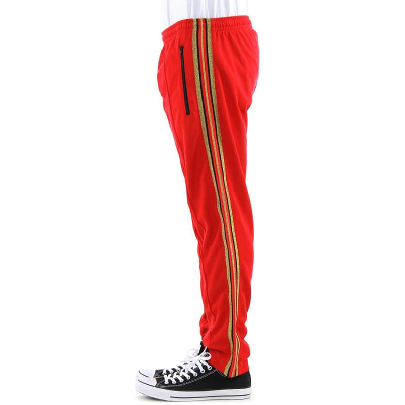 OLYMPIC TRACK PANTS (RED)
