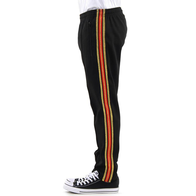 OLYMPIC TRACK PANTS (BLACK)
