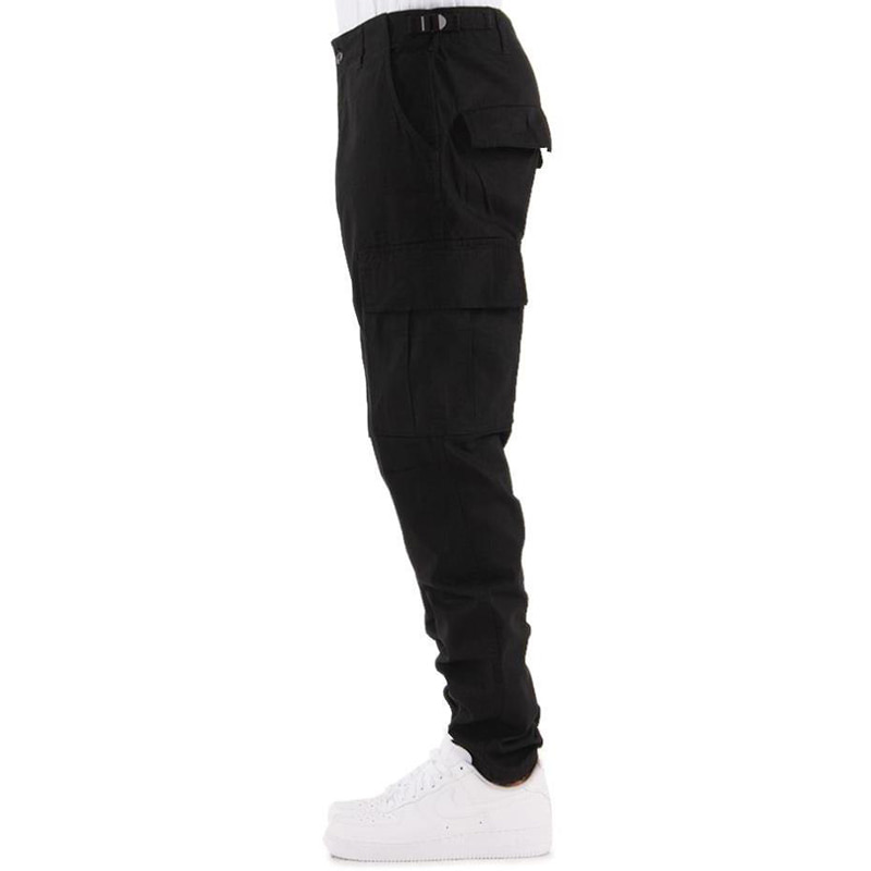 [$ SHOP SALE] [EPTM] WASHED RIPSTOP TECH PANTS (BLACK)