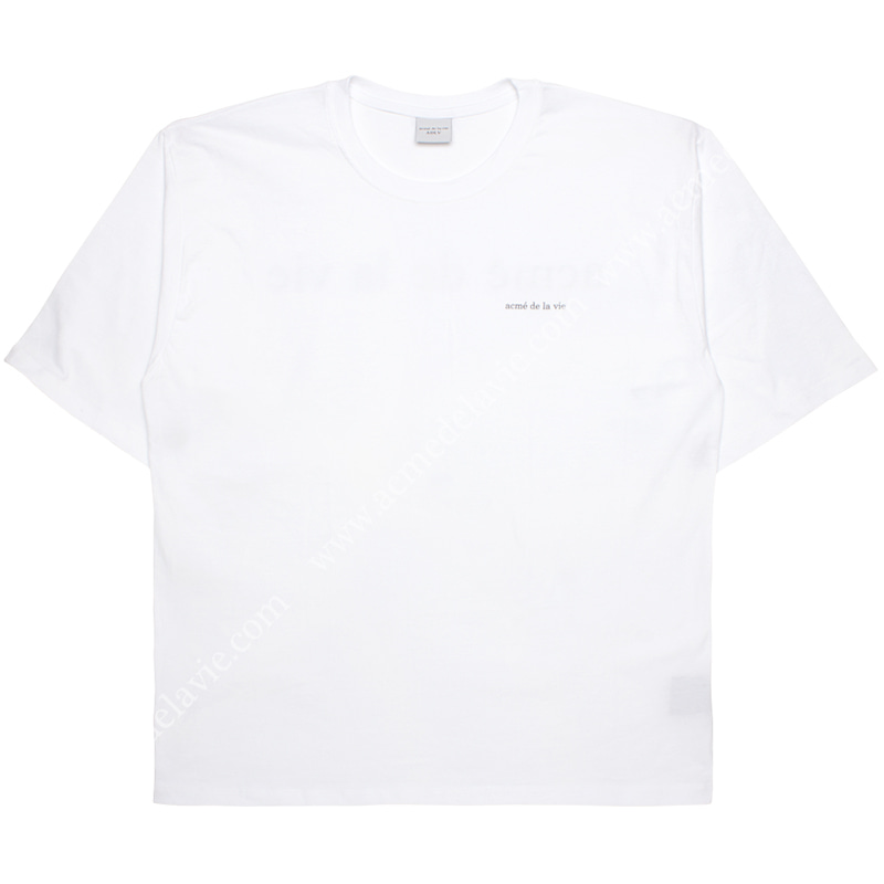[ACME DE LA VIE] ADLV BASIC SHORT SLEEVE T-SHIRT (WHITE) 반팔 화이트
