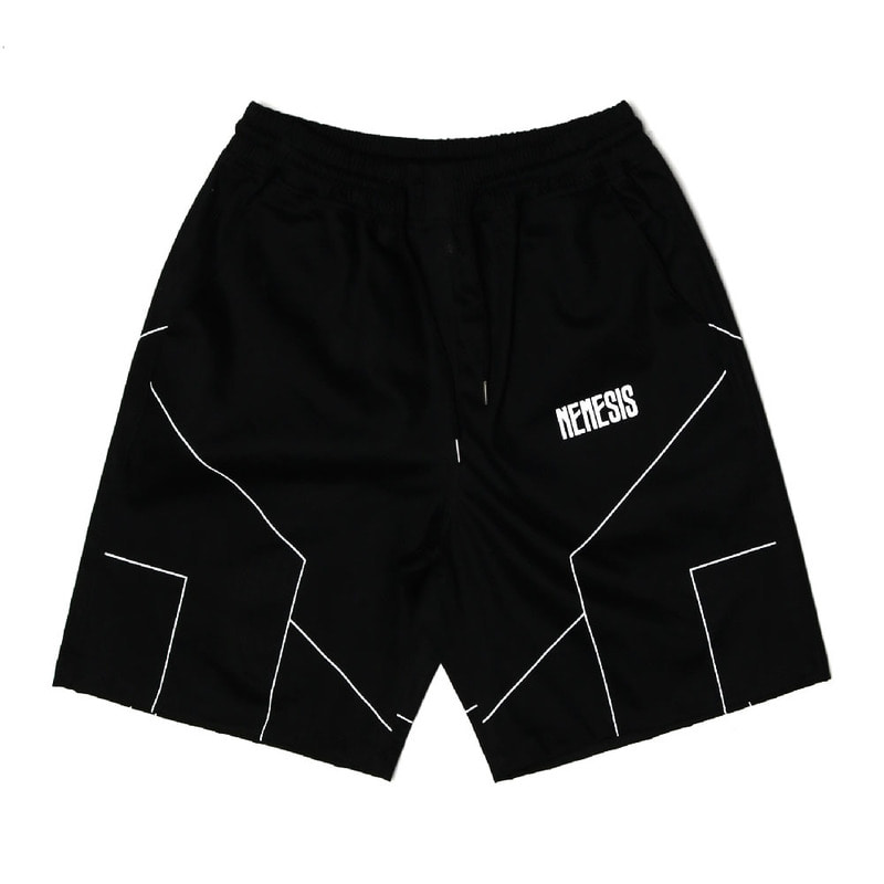 [2018 SUMMER SALE][NYPM] DIMENSIONAL SHORT PANTS (BLK)