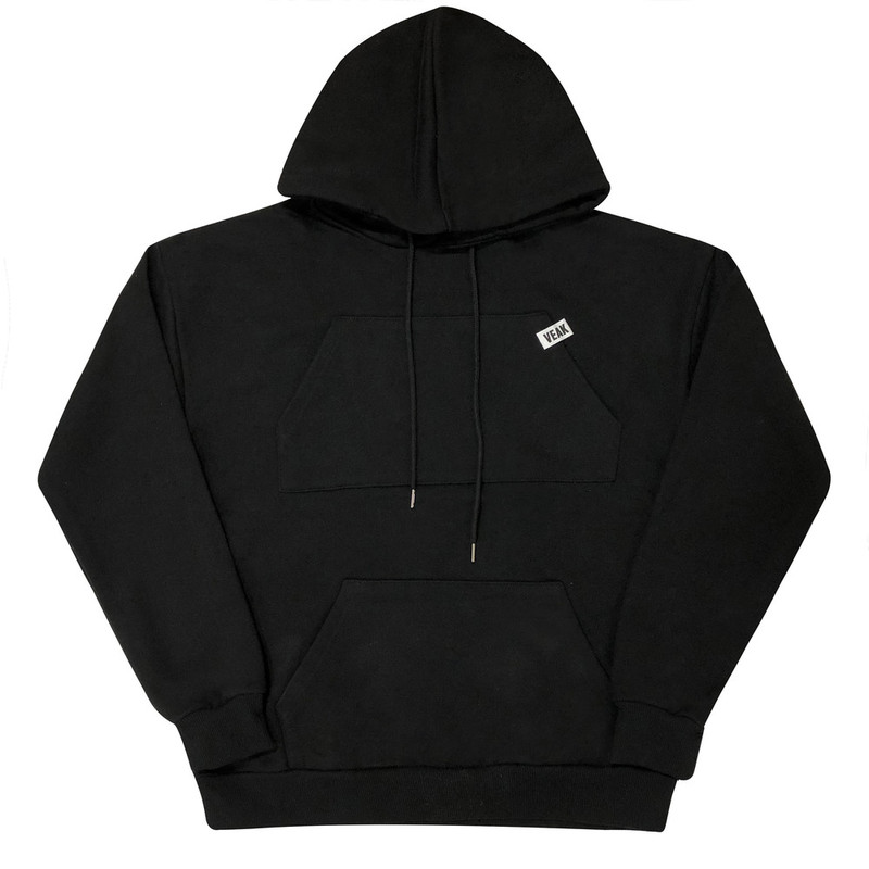 [VEAK] EP.4 LOVE, DAMAGE 2 POCKET HOOD (BLACK)