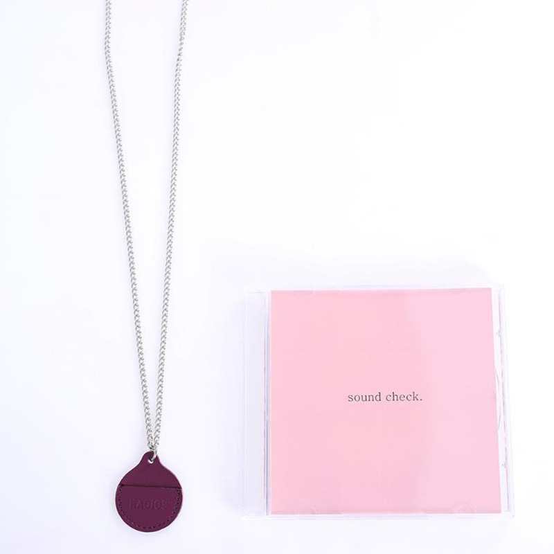 [RADIOS] COIN HOLDER NECKLACE TRACK.1 (PP)