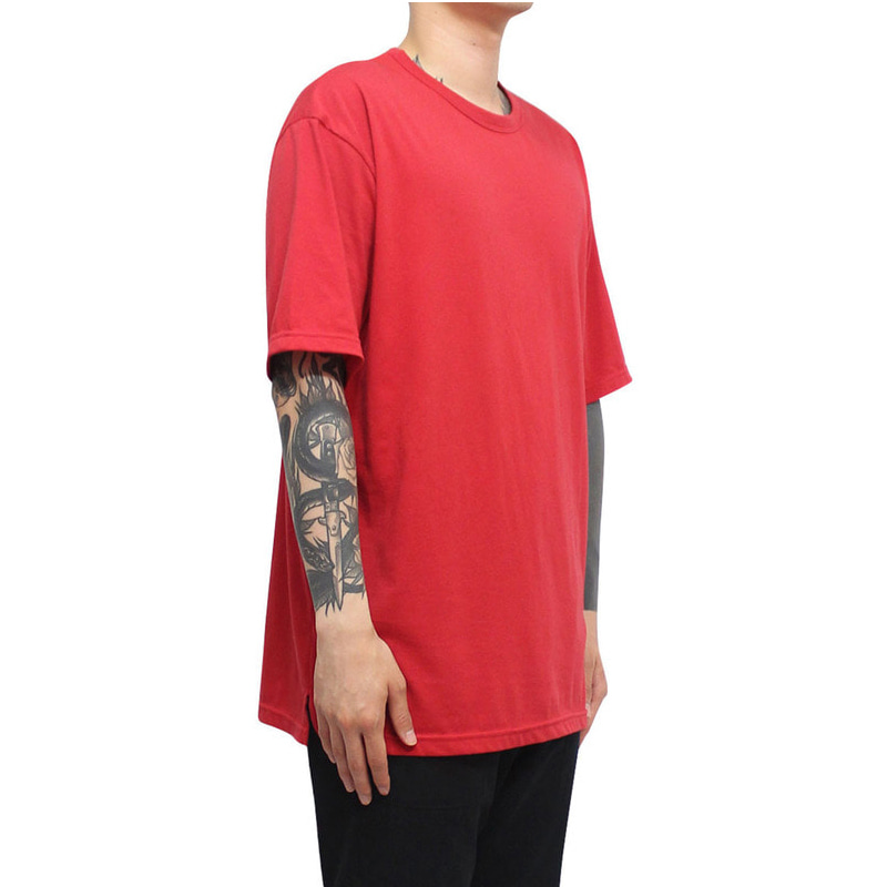 [CLACO] SQUARE TEE V3 (DEEP RED)