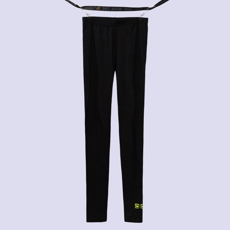 [BLACKBLOND] BBD THREE STARS LOGO LEGGINGS (BLACK)