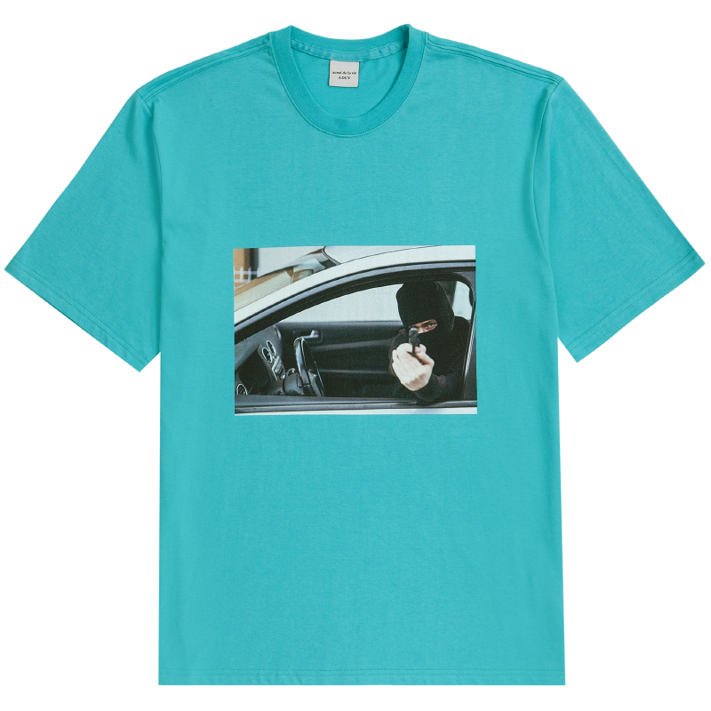 [ACME DE LAVIE] ADLV SHORT SLEEVE T-SHIRT ROBBER MINT