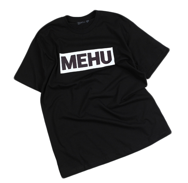 [18 HOUR] 4#MEHU BLACK SHORT TEE