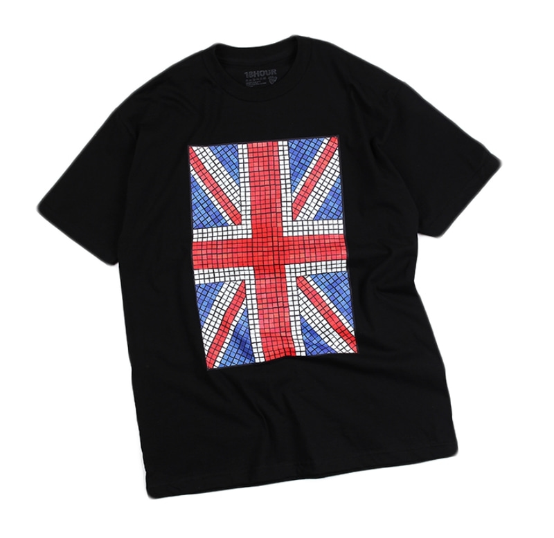 [18 HOUR] 6#UNION JACK SHORT TEE