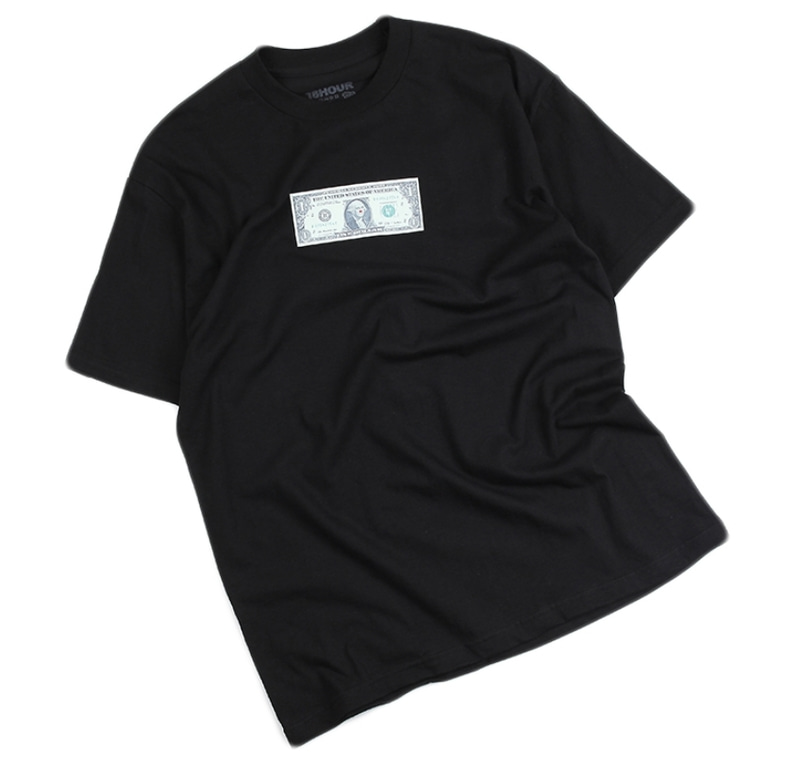 [18 HOUR] 8#ONE DOLLAR SHORT TEE