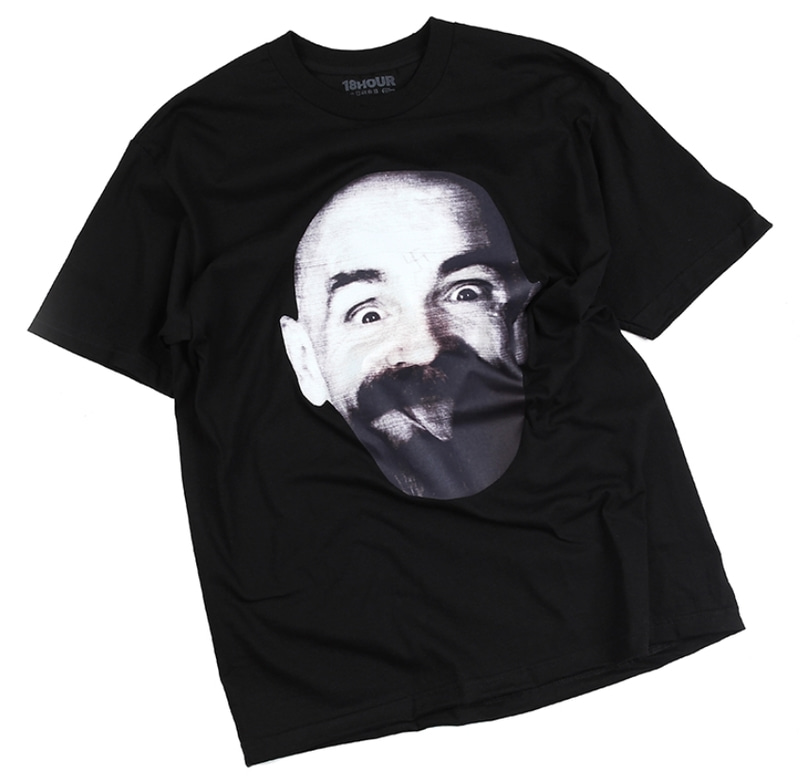[18 HOUR] 14#CHARLES MANSON FACE SHORT TEE