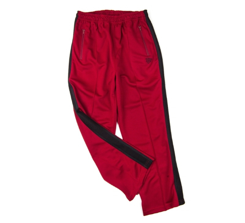 [18 HOUR] 46#LOGO TRACK PANTS (RED)