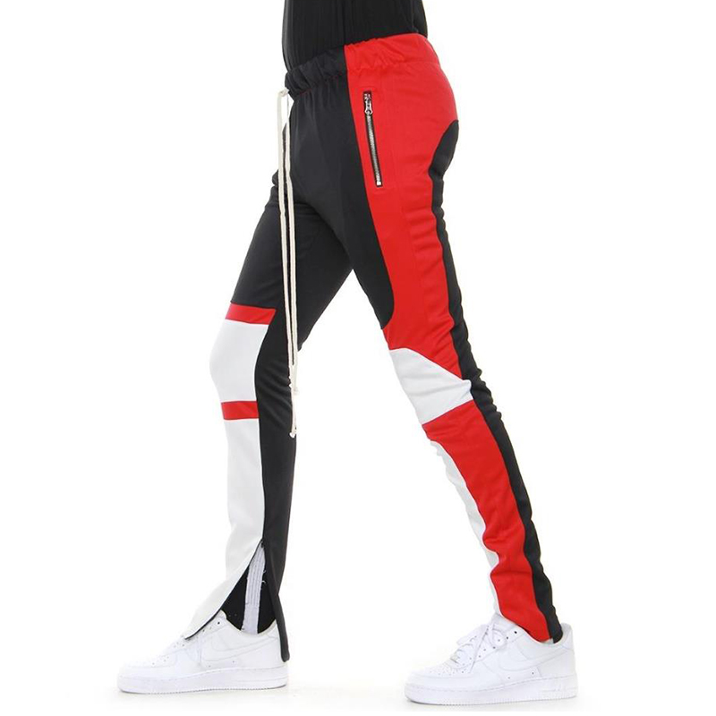 MOTOCROSS PANTS (BLACK/RED/OFF WHITE)