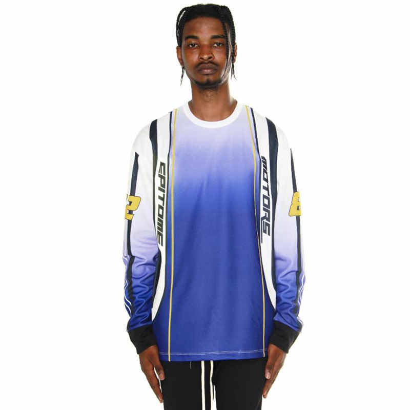 [EPTM] EPITOME MOTORS LONG SLEEVES TEE (BLUE)