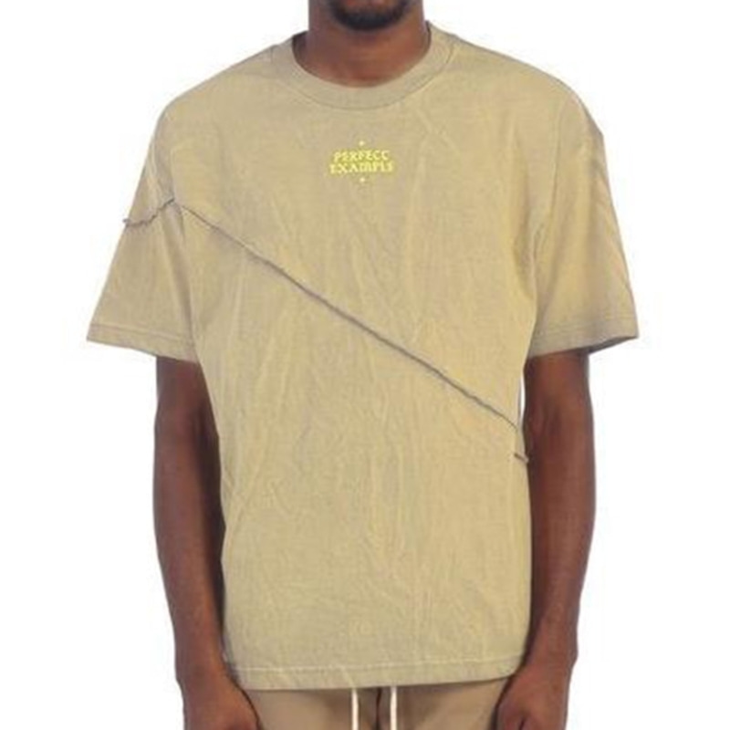 [$ SHOP SALE] [EPTM] GRAPHIC SPLIT BOX TEE (ACID TAN)