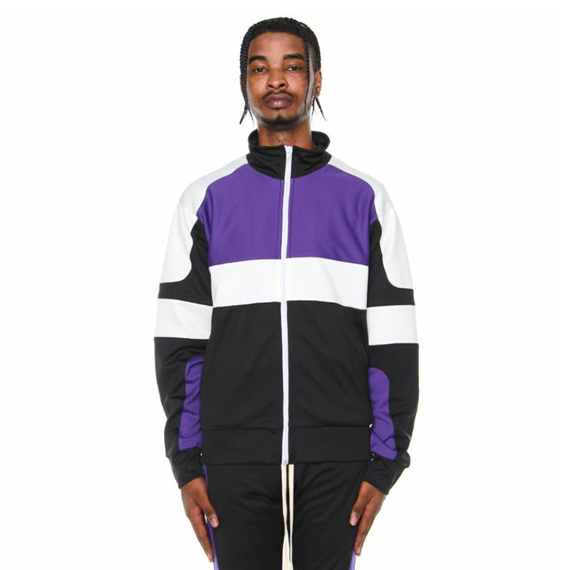 MOTOCROSS JACKET (BLACK/PURPLE/OFF WHITE)