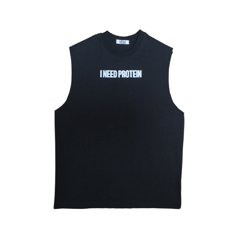 [VEAK] EP.4 ADULT SLEEVELESS / A (BLACK)