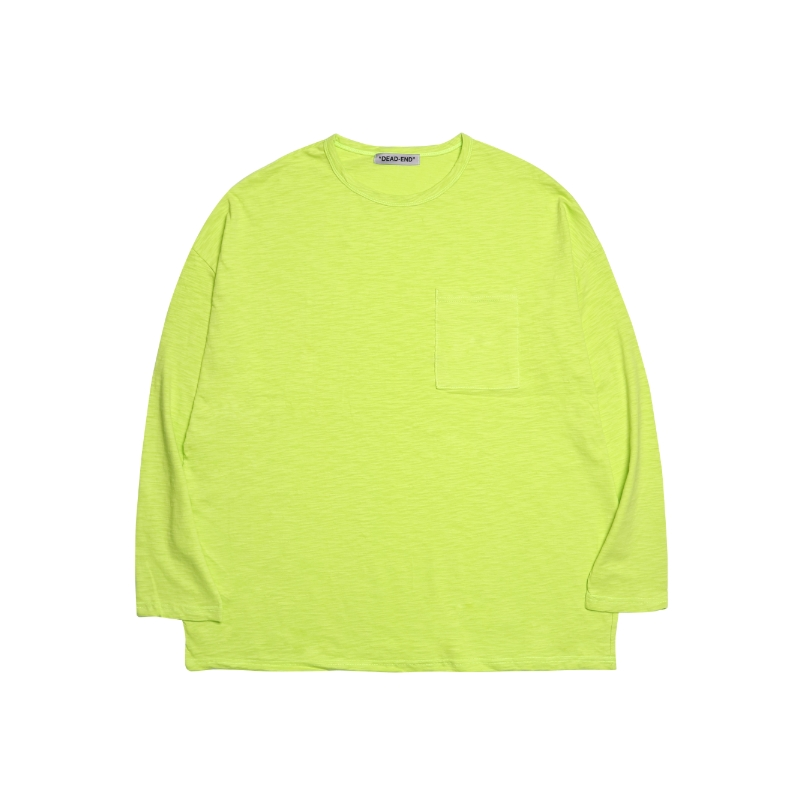 [DEADEND] NEON POCKET LONG SLV